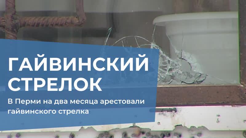 Гайвинского стрелка арестовали на два месяца