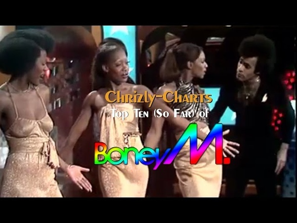 Chrizly Charts TOP 10 Retro Best Of Boney M