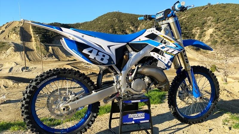 First Ride 2020 TM 144MX Two Stroke - Motocross Action Magazine