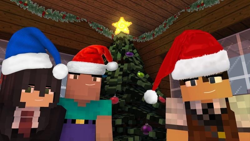 Запределье Рождественское приключение | Майнкрафт анимация (Minecraft Animation\ Mine-Imator)