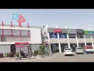 Первые кадры с места авиакатастрофы в Карачи