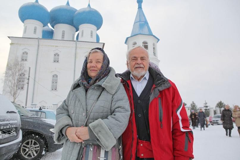 Лариса и Виктор Толкачёвы, Сретение, 2020 год