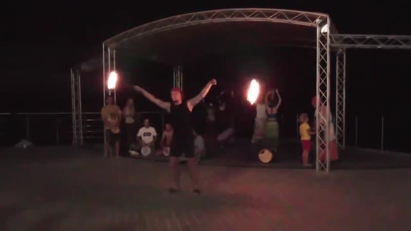 Этно джем фаер шоу и трайбл импровизация в парке Ахматовой Севастополь @ 3 08 2018