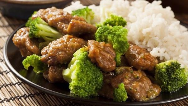 Отличный ужин - Говядина с брокколи