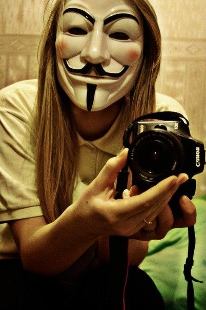 Девушка картинка крутая маска