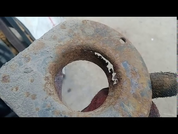 Восстановление пружинной чашки и части рамы на Nissan Terrano 2 Как это было