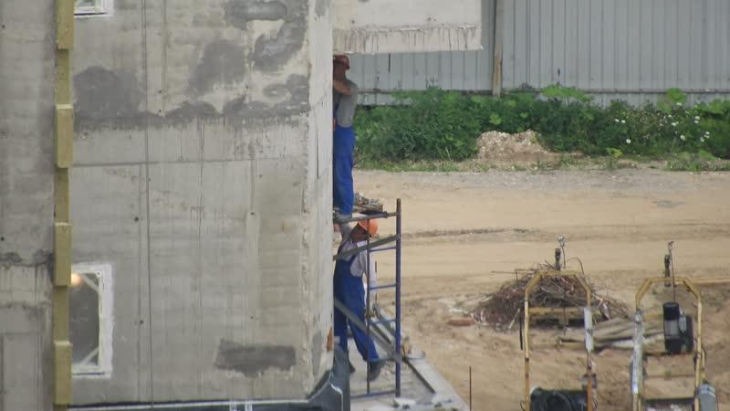 Детсад в ЖК Эталон Сити 13 07 2020г что делают на объекте обзор в кадрах вид от башен Токио