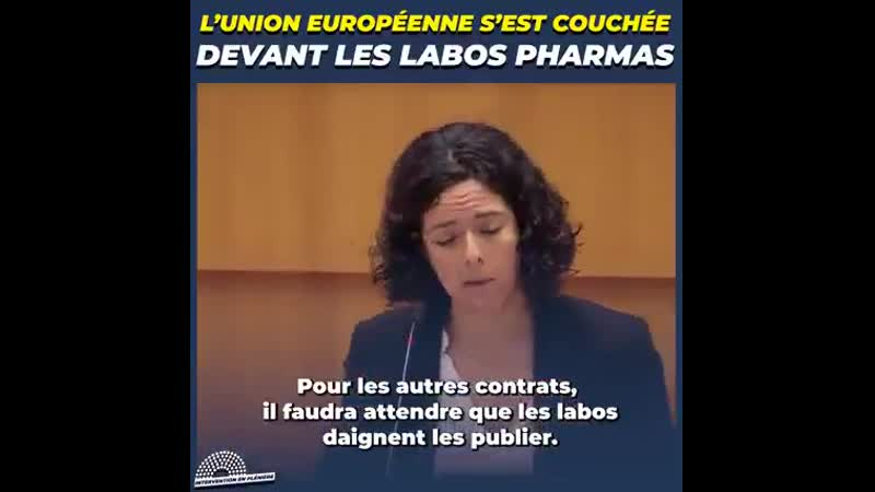 L'UE s'est couchée devant les labos qui font la loi à sa place