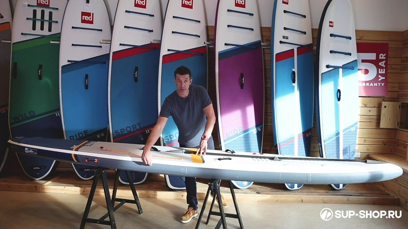 Обзор SUP Red Paddle 2021 Elite 12'6″ и 14 на русском языке