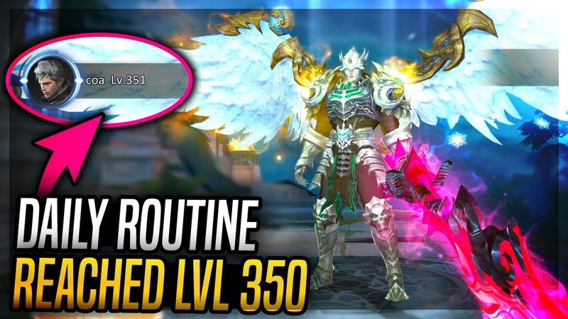 ARMORED GOD LVL 350 DAILY ROUTINE IN 30 MIN