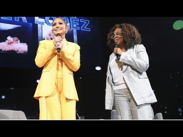 Oprahs 2020 Vision Tour Visionaries Jennifer Lopez Interview