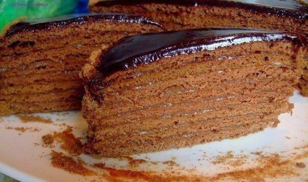 Очень вкусный Шоколадный медовик