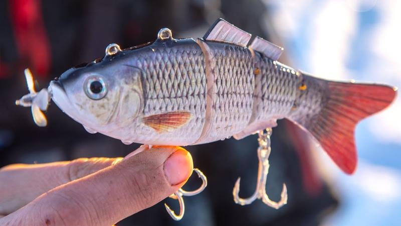РЕВОЛЮЦИОННАЯ Рыбалка на РОБОТОВ РЫБОК зимой Креативные приманки в Снасти Здрасьте