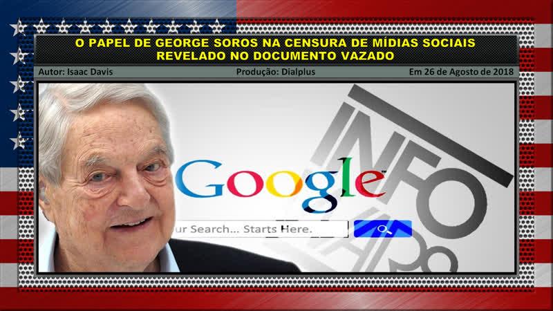 O Papel de George Soros na Censura de Mídias Sociais