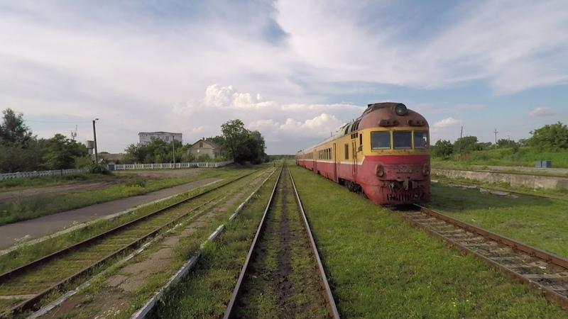 ЧФМ Железнодорожная линия Унгены Бэлць CFM Railway line Ungheni Balti