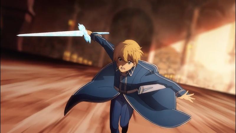 Sword Art Online Alicization Eugeo VS Bercouli