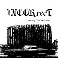 Логотип Incorrect (букинг / дистро / лэйбл)