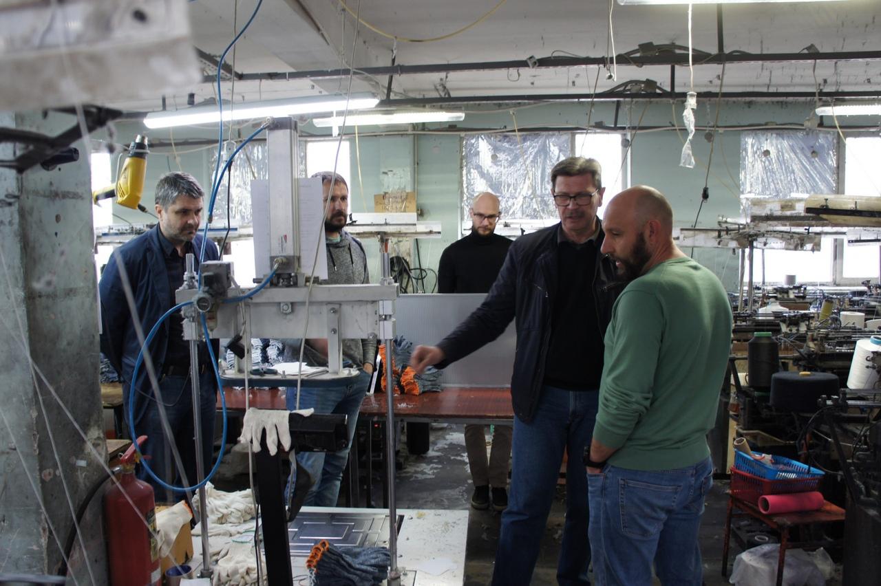 Таганрогское предприятие «Фабрика перчаток» заинтересовалась бережливыми технологиями