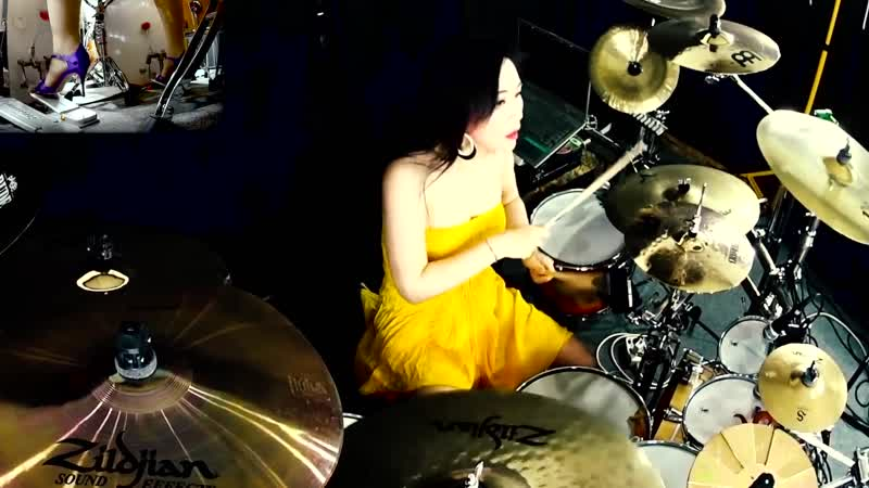 METALLICA Damage Inc drum cover by Ami Kim 100