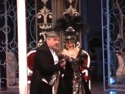 И Штраус Дуэт Розалинды и Генриха из оперетты Летучая мышь исп Наталья М и М Королев