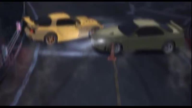 Initial D GT R R34 vs RX 7 FD3S