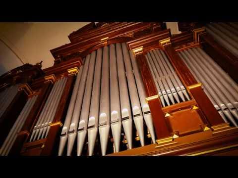 XAVER VARNUS PLAYS THE SOPRON LUTHERAN CHURCH ORGAN - TRUMPET VOLUNTARY BY CLARKE