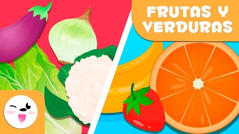 Las frutas y las verduras para niños Vocabulario para niños Aprende nuevas palabras