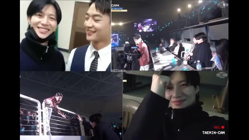 190330 2min Taeminnie attending Minho's fan meeting Best Chois Minho