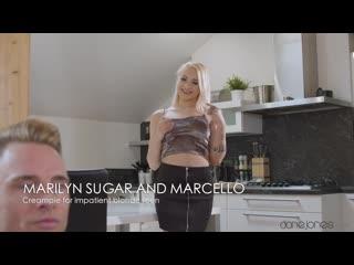[DaneJones] Marilyn Sugar - Creampie for impatient blonde teen