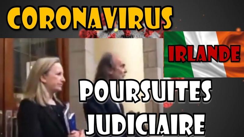 COVID19 Contestation judiciaire en Irlande par John Waters et Gemma O'Doherty