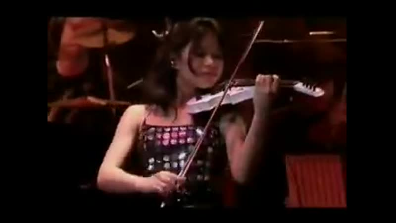 Vanessa Mae RED HOT