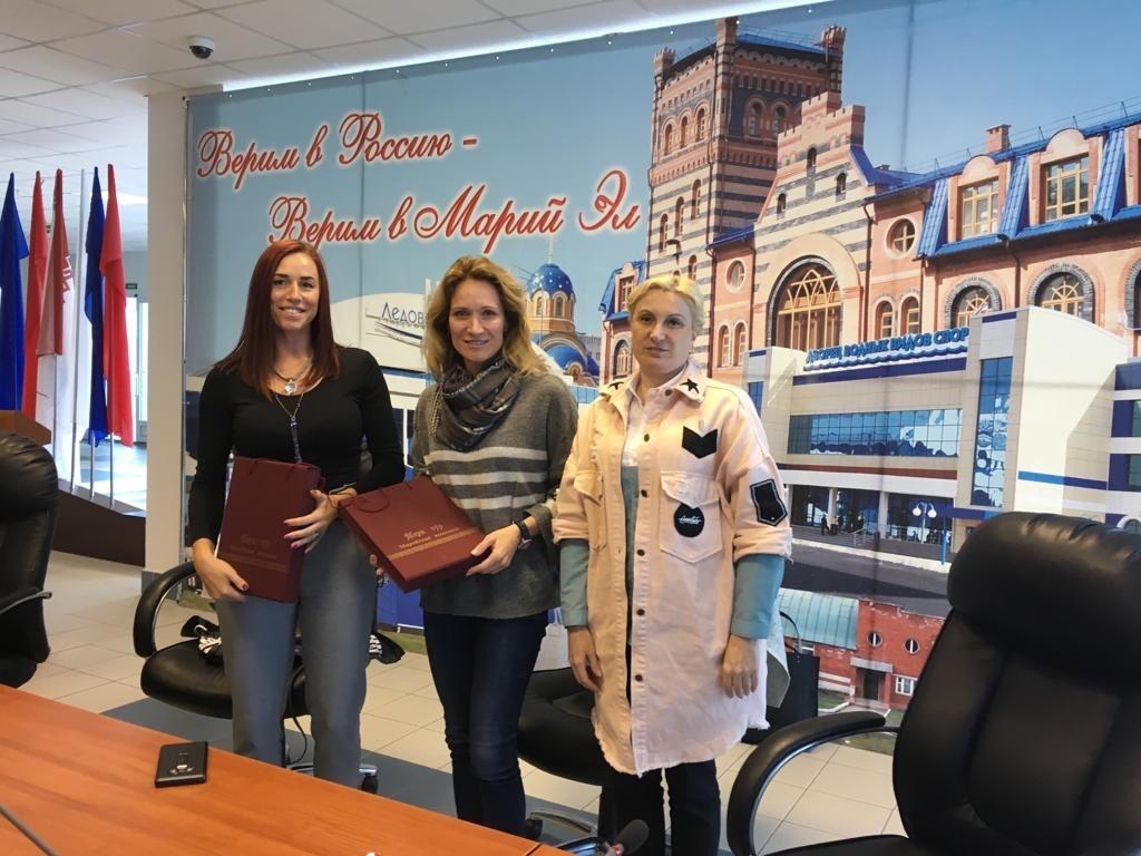 Звезды российского спорта Мария Киселева и Екатерина Лобышева откроют в Марий Эл «Школу чемпионов»