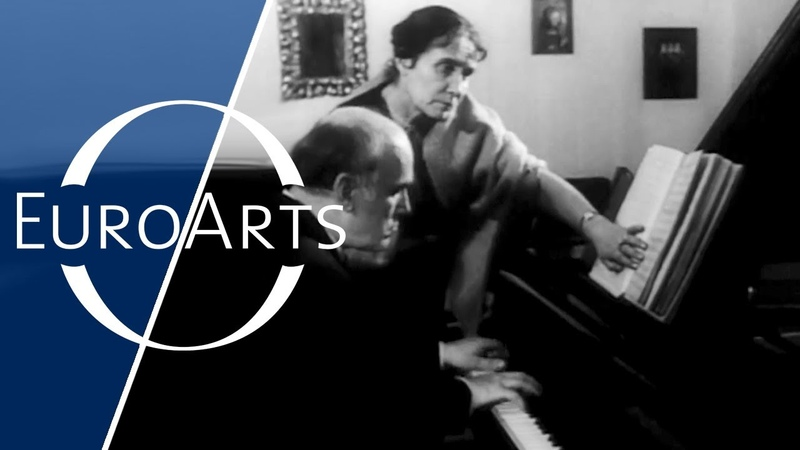 Portrait of Sviatoslav Richter One of the greatest pianists of 20th century 2 2