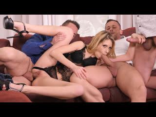 [DDFNetwork] Rebecca Volpetti - Must-See Double Penetration Orgy NewPorn2019