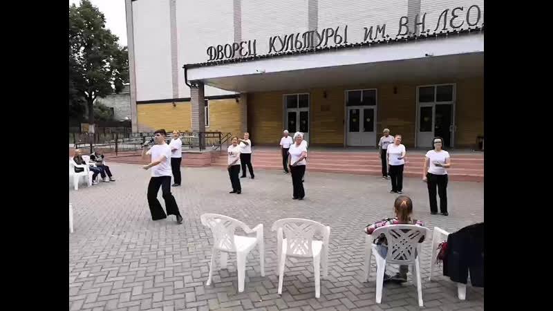 Тематическая встреча Открытое пространство в парке им. В.Н. Леоноваф