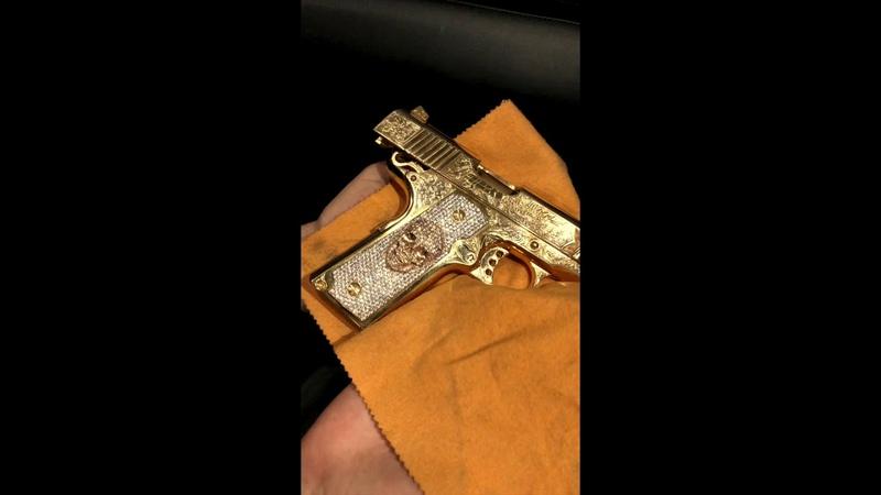 Colt 1911 skull