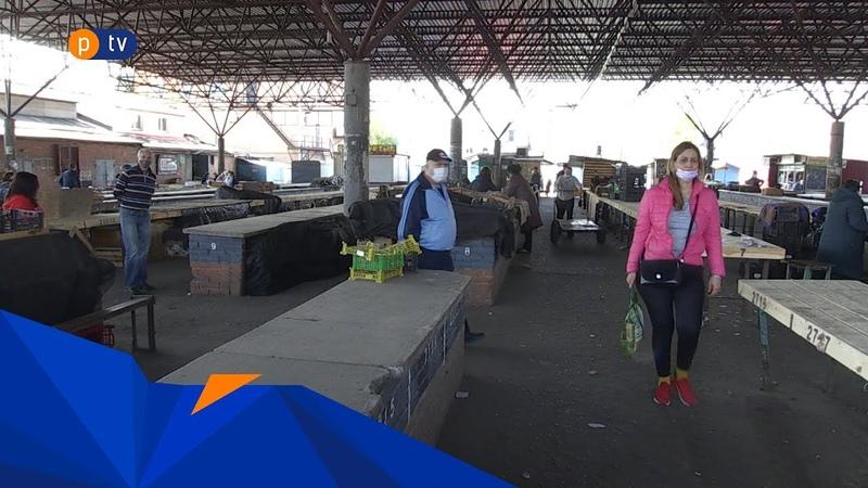 У Полтаві без дозволу поновив роботу центральний ринок