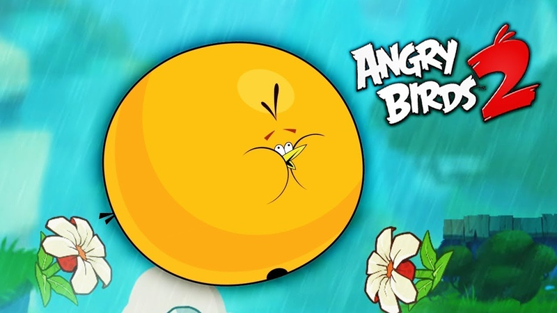 ПУХЛИК всегда ПУХЛИК Злые птички Энгри Бердс против СВИНЕЙ Angry Birds 2