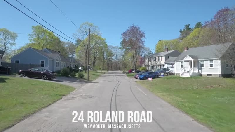 Video of 24 Roland Road _ Weymouth, Massachusetts real estate homes by Rion Ma