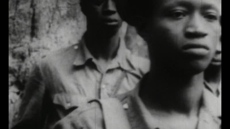Фаргменты фильма Герилья в Бисау 1966 реж Марио Марре и Эудженио Бентивольо