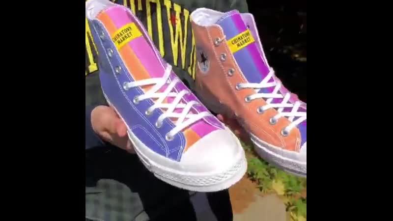 Converse представила кеды, меняющие цвет на солнце