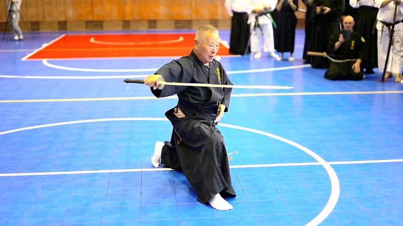 Sekiguchi Sensei Mae Seidza Mae Tachiwadza СЕКИГУТИ СЭНСЕЙ МАЭ СЭЙДЗА ТАТИВАДЗА