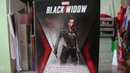 Распаковка куклы Чёрная Вдова Barbie Signature Marvel