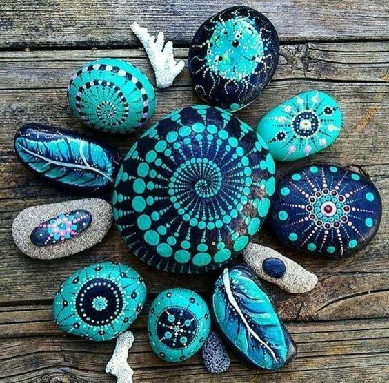 Роспись камешков после моря Самые крутые идеи для тебя