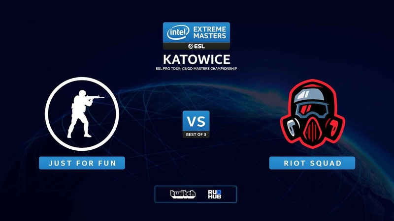 Just For Fun vs Riot Squad – IEM Katowice 2020 NA Quals - map1 - de_mirage [SSW MintGod]