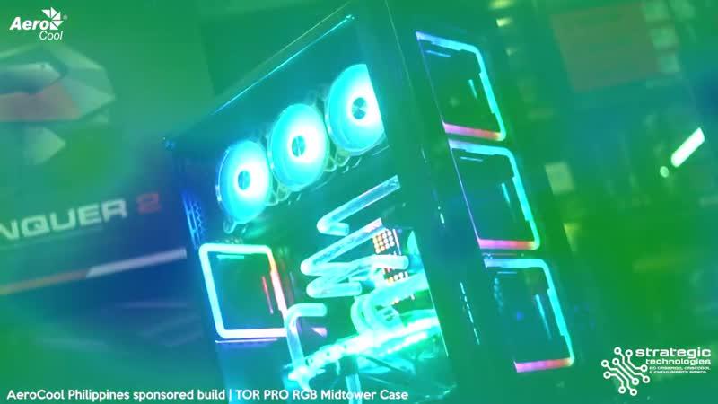 AeroCool Philippines sponsored build _ AeroCool TOR PRO Addressable RGB Full Tower Case2020