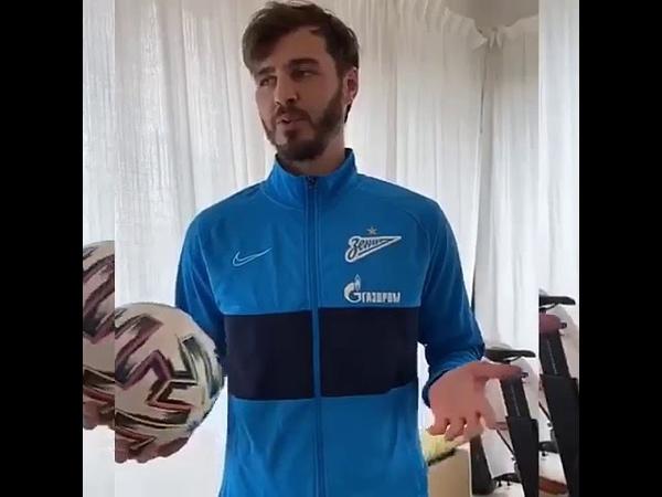 Александр Ерохин передает привет воспитанникам Школы Смертина