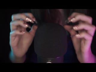 ASMR Mic Scratching with Long Nails ¦ Blue Yeti Pro ¦ No Talking