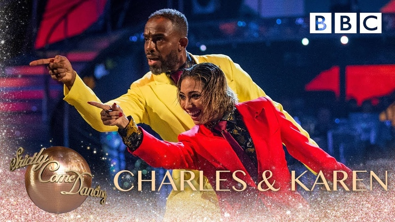 Charles Venn and Karen Clifton dance to 'Get Up Off That Thing' BBC Strictly 2018