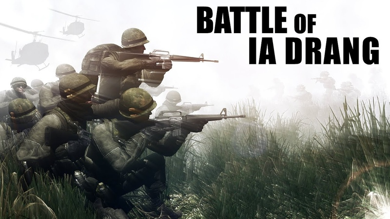 Battle of IA DRANG Vietnam War ArmA 3 Machinima